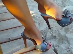 Toes videos. I have so much fun teasing my sissy boy with my sexy toes