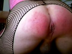 Anus ass spanking and my favorite rectum filling toys