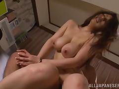Mayuka Okada gets her snatch unforgettably pounded