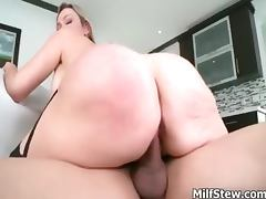 Horny big tits blonde milf fucking hard part3