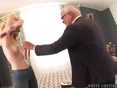 80 Year Old Man Fucks A Skinny Slut