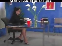 Office Lesbian Hosiery Affairs