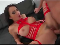 Hot milf gets pussy creampie