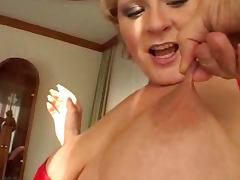 BBW Emilia is a blond lust with some exotic desires