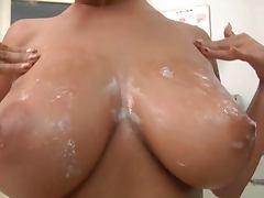 Nao Tachibana Big tits bukkake