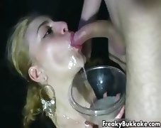 Blonde latina slut from Espana loves cum part2