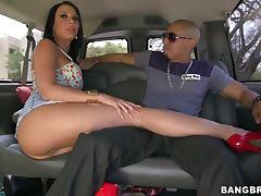 Bus, Brunette, Bus, Ffm, Kinky, Masturbation