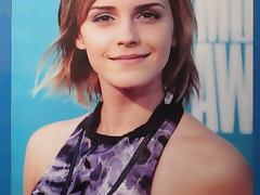 Emma Watson Cum Tribute Bukkake No3