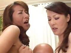 Busty Japanese Moms and their sons porn video