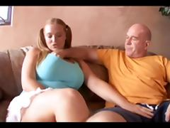 Old Man Puts The Pipe To Big Tit Pigtail Redhead Sierra porn video