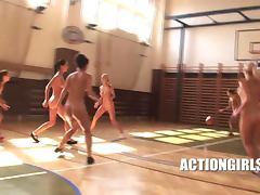 nude basketball