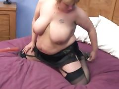 cute blonde solo bbw