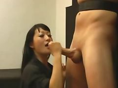 Asian harsh handjob 1