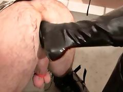 Sissy Ass turns Rubber Cunt and more