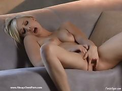 All, Blonde, Fingering, Masturbation, Teen