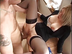 Underwear, Amateur, Anal, Blonde, Blowjob, French