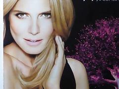 Heidi Klum Cum Tribute Bukkake No 1