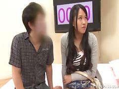 Japanese milf enjoys amazing multiposition sex indoors