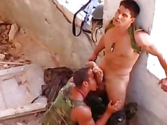 Strong Gay Dudes Sucking And Fucking Their Beefy Cocks
