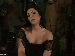 Humpy Milla gets punished by Kathia Nobili in a basement