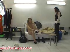 Lingerie, Backroom, Backstage, Blonde, Lingerie, Natural
