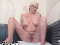 Housewife, Blonde, Hardcore, Horny, Housewife, Masturbation