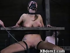 Horny Girl In Horny BDSM And Fetish Extreme