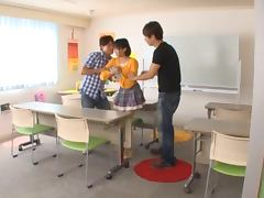 Miku Hasegawa enjoys amazing multiposition sex in a kitchen