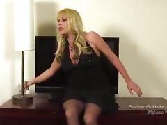 Melissa Wolf Takes Cum