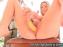 Angela Japanese Blonde Veggie And Fruit Stuffing