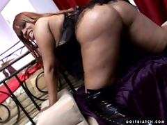 Lethal Lipps the hot Black girl gets fucked in the ass