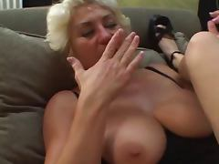 Mom and Girl, 18 19 Teens, Lesbian, Mature, Old and Young, Mom and Girl
