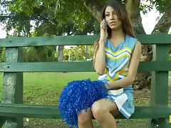 Miniskirt, Blowjob, Close Up, Couple, Cum in Mouth, Cumshot