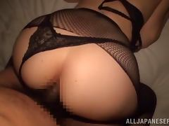 Amateur POV with a sexy Japanese booty