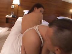 Precious Karen Aoki loves it deep in a doggy style
