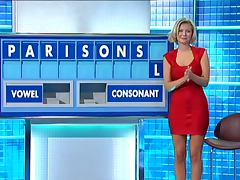 Rachel Riley Tight Red Dress porn video