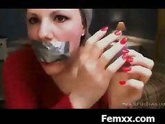 Female Dominating Wild Sadistic Torture With Punishment