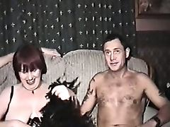 Vintage Mature, Amateur, Blowjob, British, Brunette, Cum