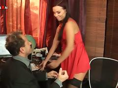 Alysa is a horny Secretary That Loves Anal Fisting