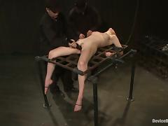 Incredible Extreme Bondage Action and Toying for Lily Labeau