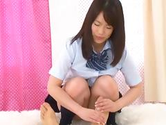 Nice teen An Shinohara gets nailed after classes