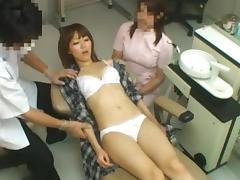 MILF Fucked By A Dentist With His Assistant's Help