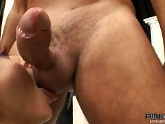 MMF, Anal, Blowjob, Cum in Mouth, Cumshot, Double
