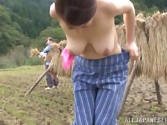 Ayano Murasaki the mature Japanese gets fucked outdoors