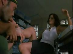 Carrie Anne Moss Foot Fetish Scene