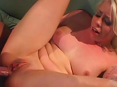 Anal fuck with a slender blonde Lorelei Lee