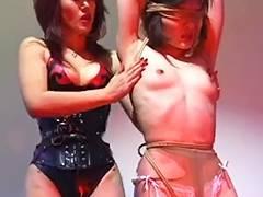 Domina Natsuki and her bondman Misao
