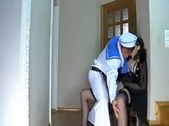 MILF stepmom seducing a younger boy to be her lover