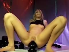 Giant anal dildos