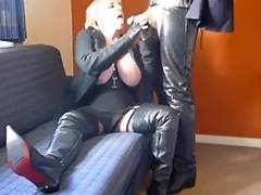Granny Jasmine Gives A Oral Sex In A Motel